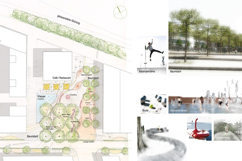 Landschaftsarchitektur Kunder 3 - Spielraumkonzept Neckarpark
