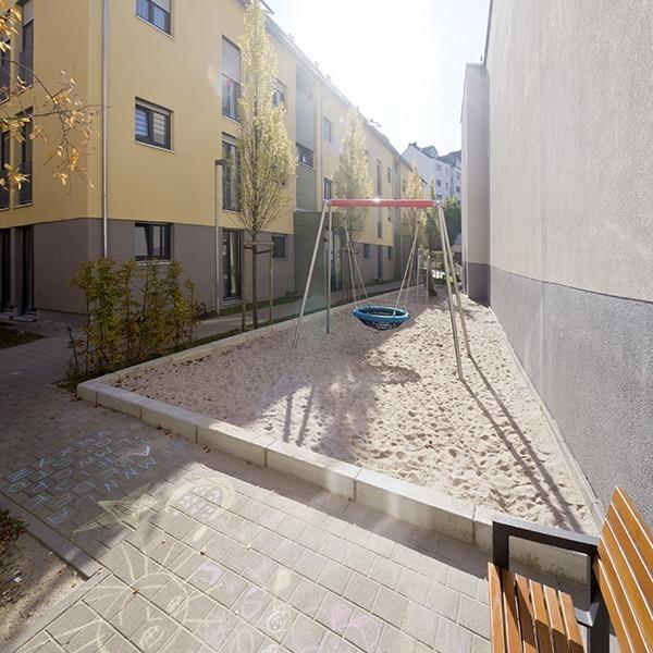 Kinderspielplatz in der Bebelstraße