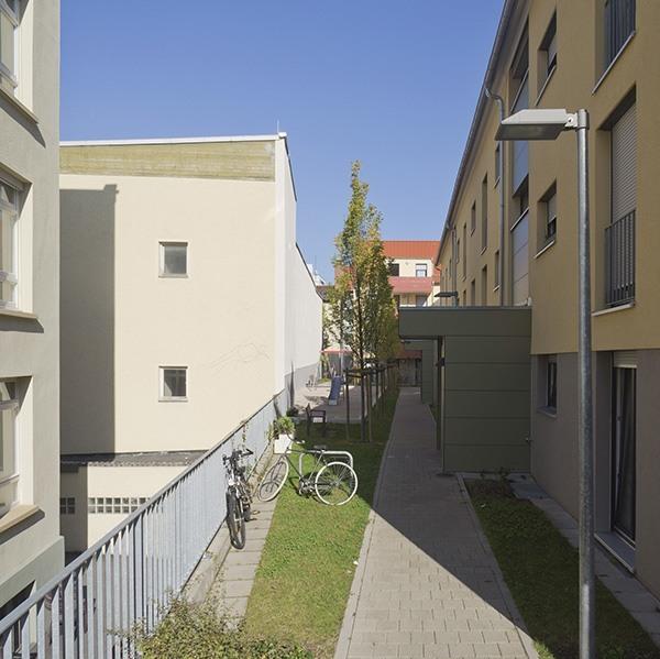 Bebelstraße - Eingangsbereich - Landschaftsarchitektur Stuttgart