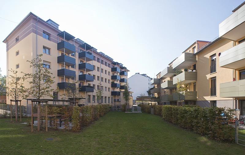 Bebelstraße Überblick