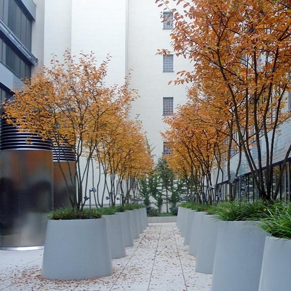Landschaftsarchitekt Stuttgart - Blick auf die Töpfe
