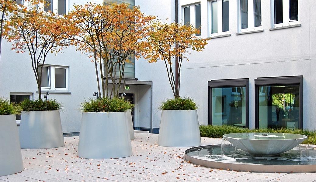 Überblick über Innenhöfe in Stuttgart