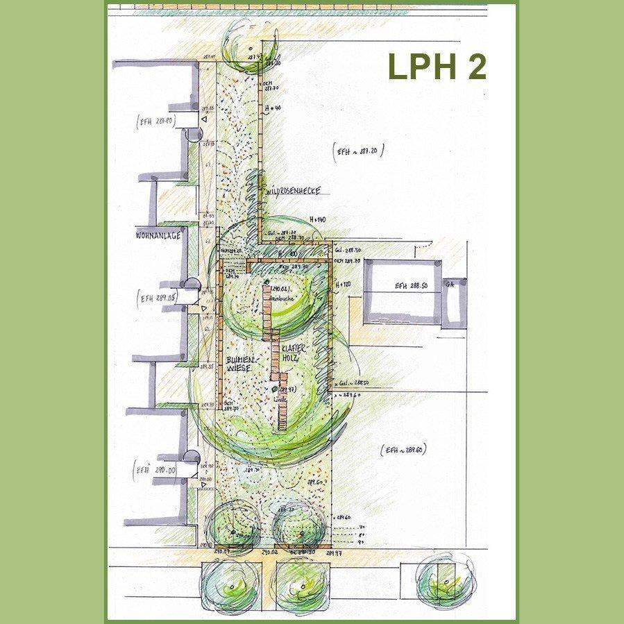 LPH 2 - Vorentwurfsskizze