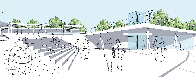 Seeufer Sondern - Entwurf - Landschaftsarchitektur